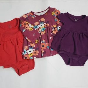 First Impressions Peplum Bodysuits and Top 12 M